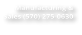 Truck Cap Manufacturing & Sales  phone (570) 275-0630